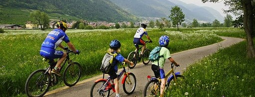 Percorso ciclopedonale della Valle di Sole is one of #trekkingdelbenessere.