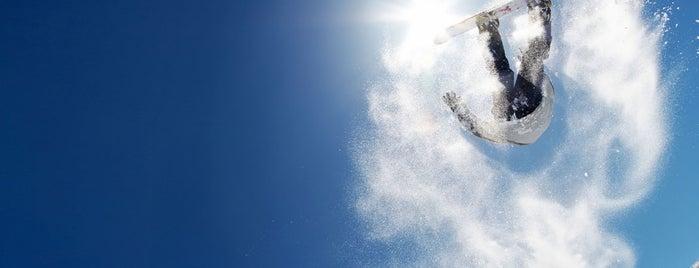 Sanpe Snowpark Passo San Pellegrino is one of Attività per sportivi.