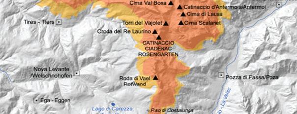 Ski Area Latemar is one of #luoghidelbenessere.