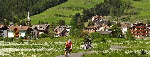 Percorso ciclopedonale Val di Fiemme - Val di Fassa is one of #trekkingdelbenessere.
