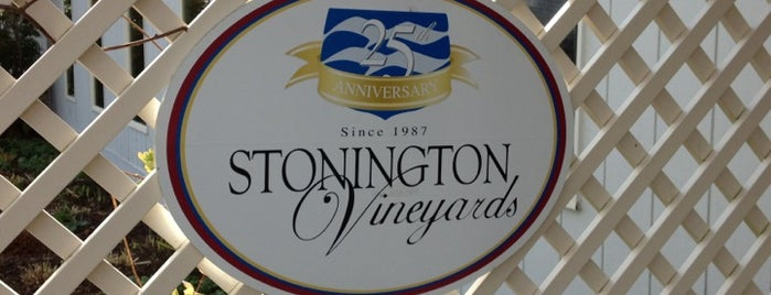 Stonington Vineyards Inc is one of Winery's.
