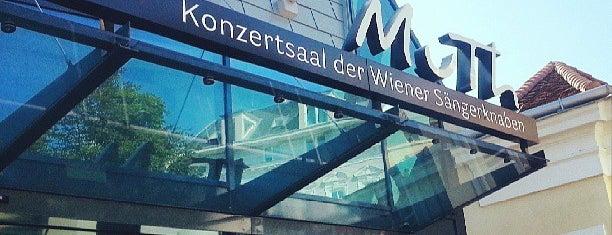 MuTh - Konzertsaal der Wiener Sängerknaben is one of Besuchen non-D.