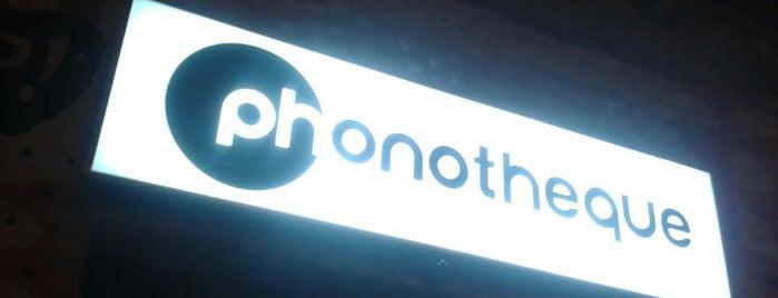 Phonotheque is one of Tempat yang Disukai Ela.