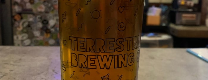 Terrestrial Brewing Company is one of Cleveland Favorites.