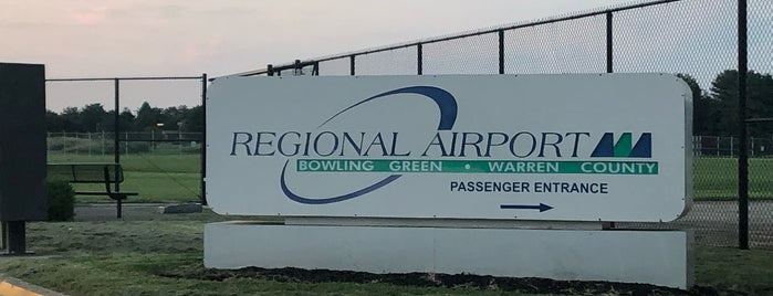 Bowling Green - Warren County Regional Airport (BWG) is one of BGKY List of Places to See.