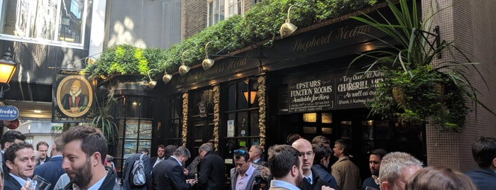 The Old Doctor Butler's Head is one of London Bars and Pubs.