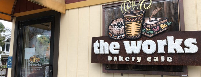 The Works Bakery Cafe is one of VT.