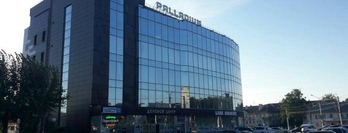 """БЦ """"Palladium"""" is one of สถานที่ที่ Денис ถูกใจ."""
