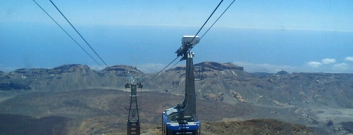 Teleférico del Teide is one of Tenerife.