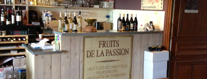 Les Fruits de la Passion is one of VISITED RESTAURANTS/GASTROPUBS/FRITUREN.