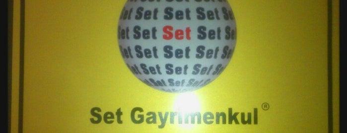 Set Gayrimenkul is one of İŞYERLERİ.