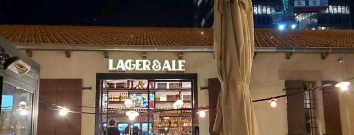 lager & ale is one of สถานที่ที่ Carl ถูกใจ.