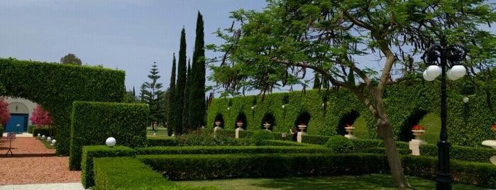 Bahá'i Gardens (Bahji) - Akko is one of RadNomad - Israel.