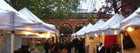 Cabbages and Frocks Market is one of London Markets & Food Stalls.