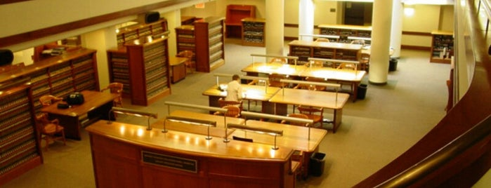 NYU Law School Library is one of Library.