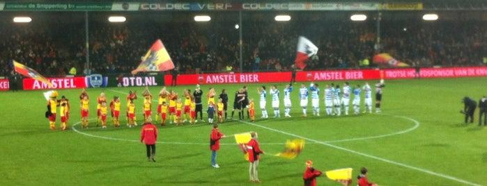 Stadion de Adelaarshorst is one of 'Stadium Talk'....
