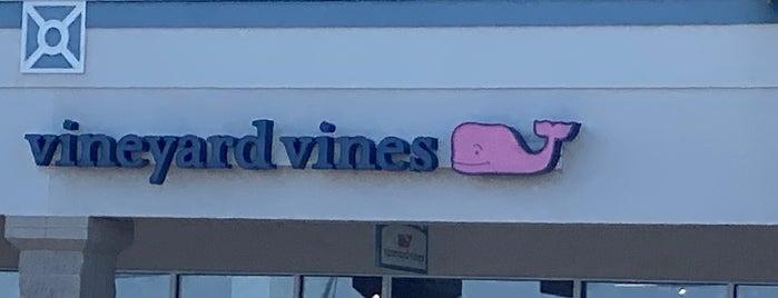 Vineyard Vines is one of Jen Randall on the Eastern Shore.