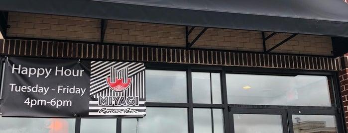 Miyagi Ramen Bar is one of Gespeicherte Orte von Rachel.
