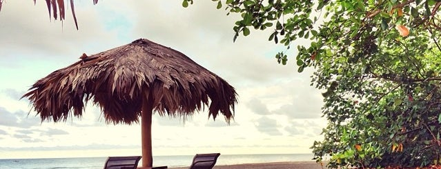 Banana Azul Restaurant Beach Bar & Grill is one of สถานที่ที่บันทึกไว้ของ Courtney.