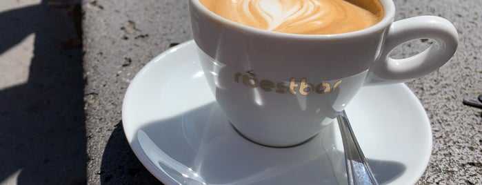 roestbar is one of Europe specialty coffee shops & roasteries.