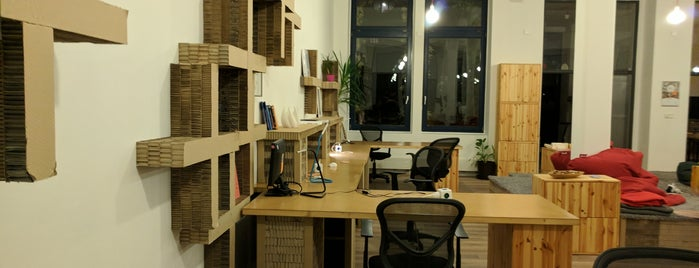 Paper Hub is one of Prague.