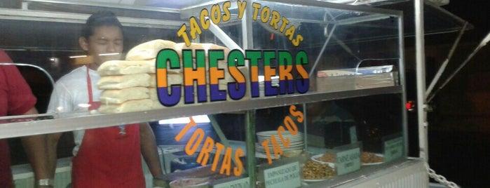 Tacos y Tortas CHESTERS is one of Lieux sauvegardés par Gabriel.