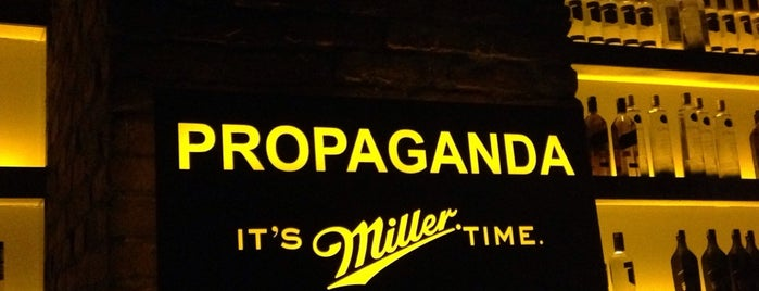 Propaganda is one of istanbul cool places.
