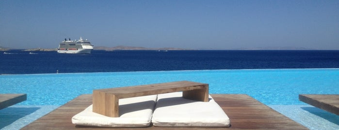 Cavo Tagoo is one of Mykonos, Greece.