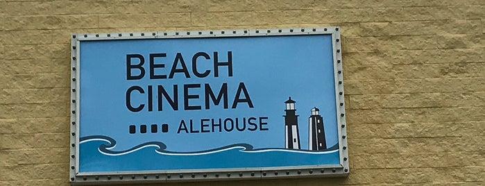 Beach Cinema Alehouse is one of Tempat yang Disukai Dawn.