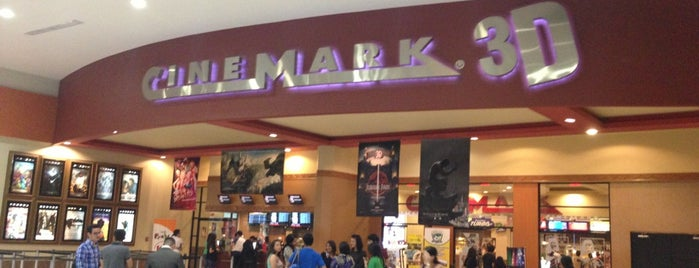 Cinemark is one of Tempat yang Disukai Jose Manuel.