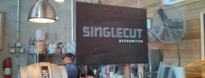 SingleCut Beersmiths is one of NYC Good Beer Passport 2014.