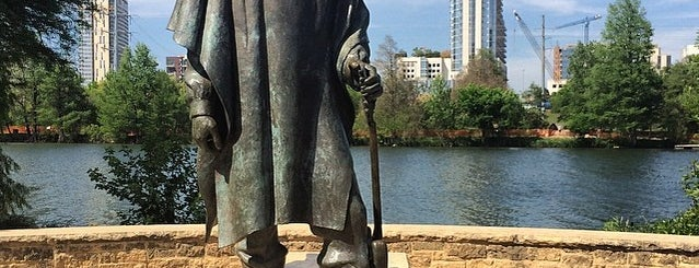 Stevie Ray Vaughan Statue is one of Austin.