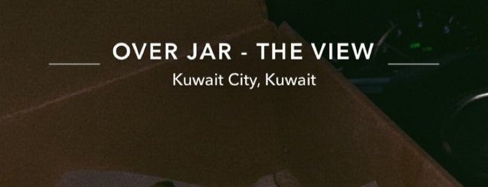 OVER JAR - THE VIEW is one of Kuwait.