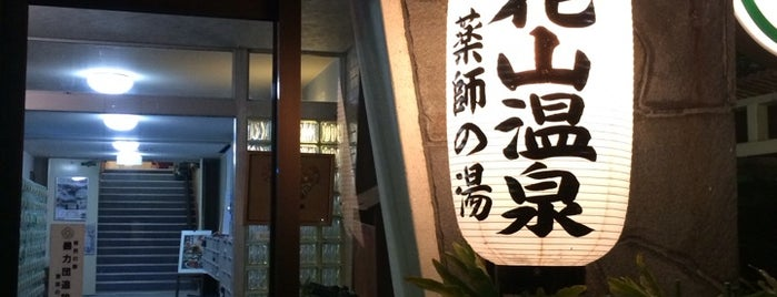 花山温泉 薬師の湯 is one of 訪れた温泉施設.
