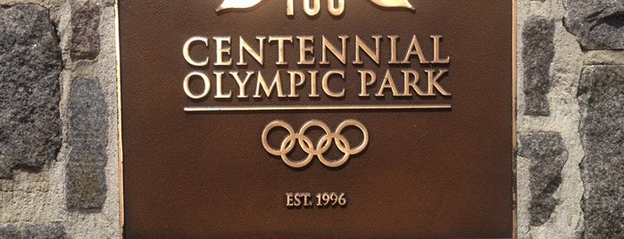 Centennial Olympic Park is one of Things to do in  Atlanta Georgia.