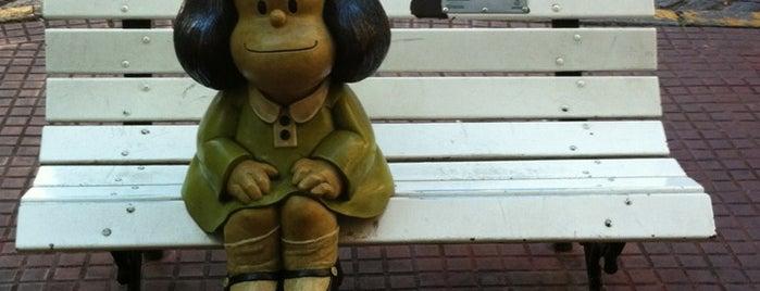 Monumento a Mafalda, Susanita y Manolito is one of Capital Federal (AR).