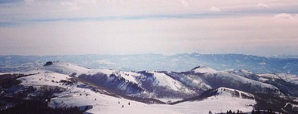 Deer Valley Mayflower Lift is one of Stevenson Favorite Skiing Mountains.