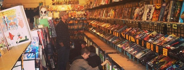 Golden Apple Comics is one of LA.