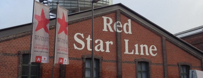 Red Star Line Museum is one of Tempat yang Disukai ™Catherine.