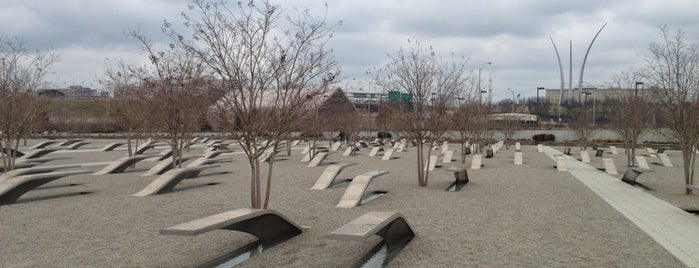 The Pentagon 9/11 Memorial is one of Washington DC.