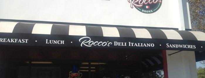 Rocco's Deli Italiano is one of La Sandwiches.