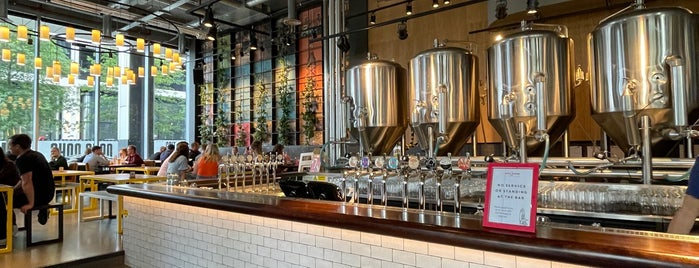 Little Creatures is one of London's Best for Beer.