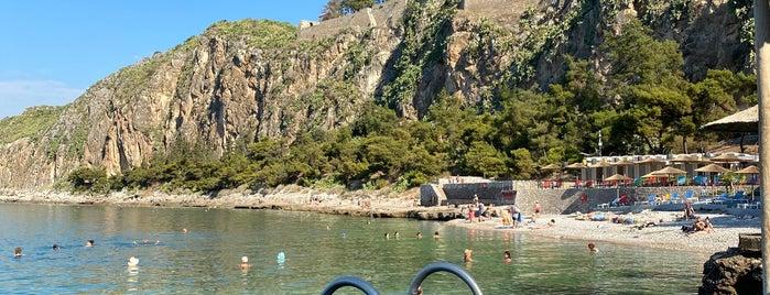 Arvanitia Beach is one of Greece.