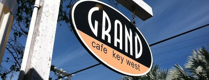 The Grand Cafe is one of Key West.