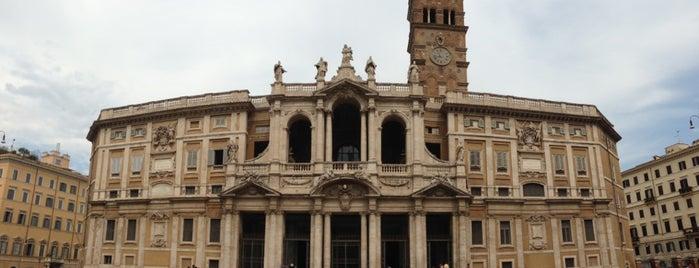Basilica di Santa Maria Maggiore is one of Rome / Roma.