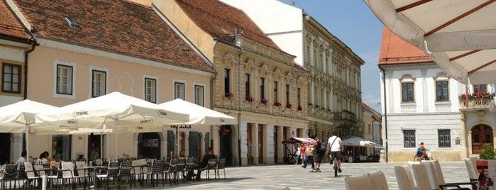 Trg kralja Tomislava is one of Europe.