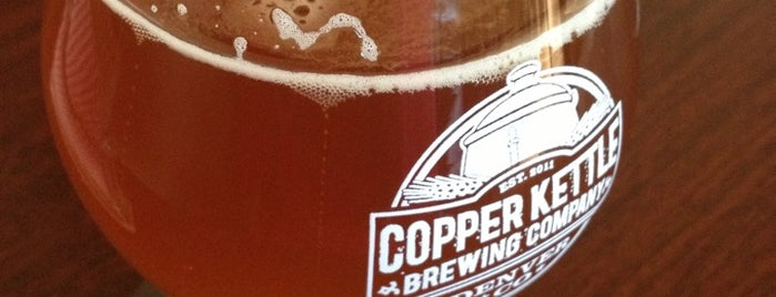 Copper Kettle Brewing Company is one of Craft Brewing Guide: Denver Colorado.