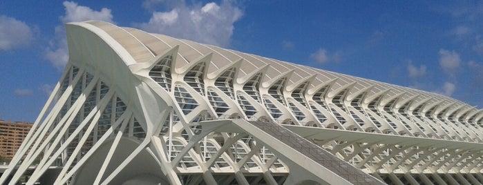 Ciudad de las Artes y las Ciencias is one of 建築マップ ヨーロッパ.