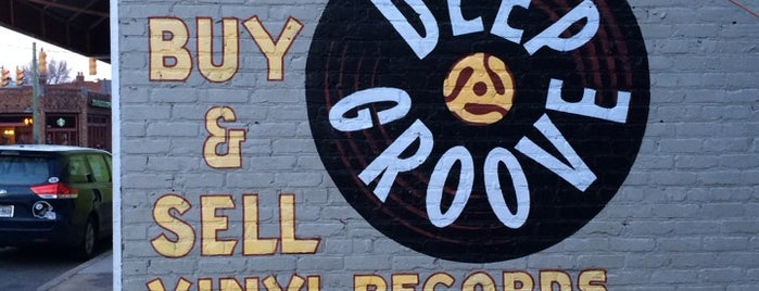 Deep Groove Records is one of Richmond.