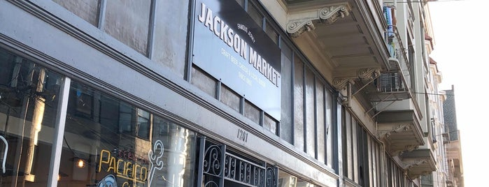 Jackson Market is one of SF.